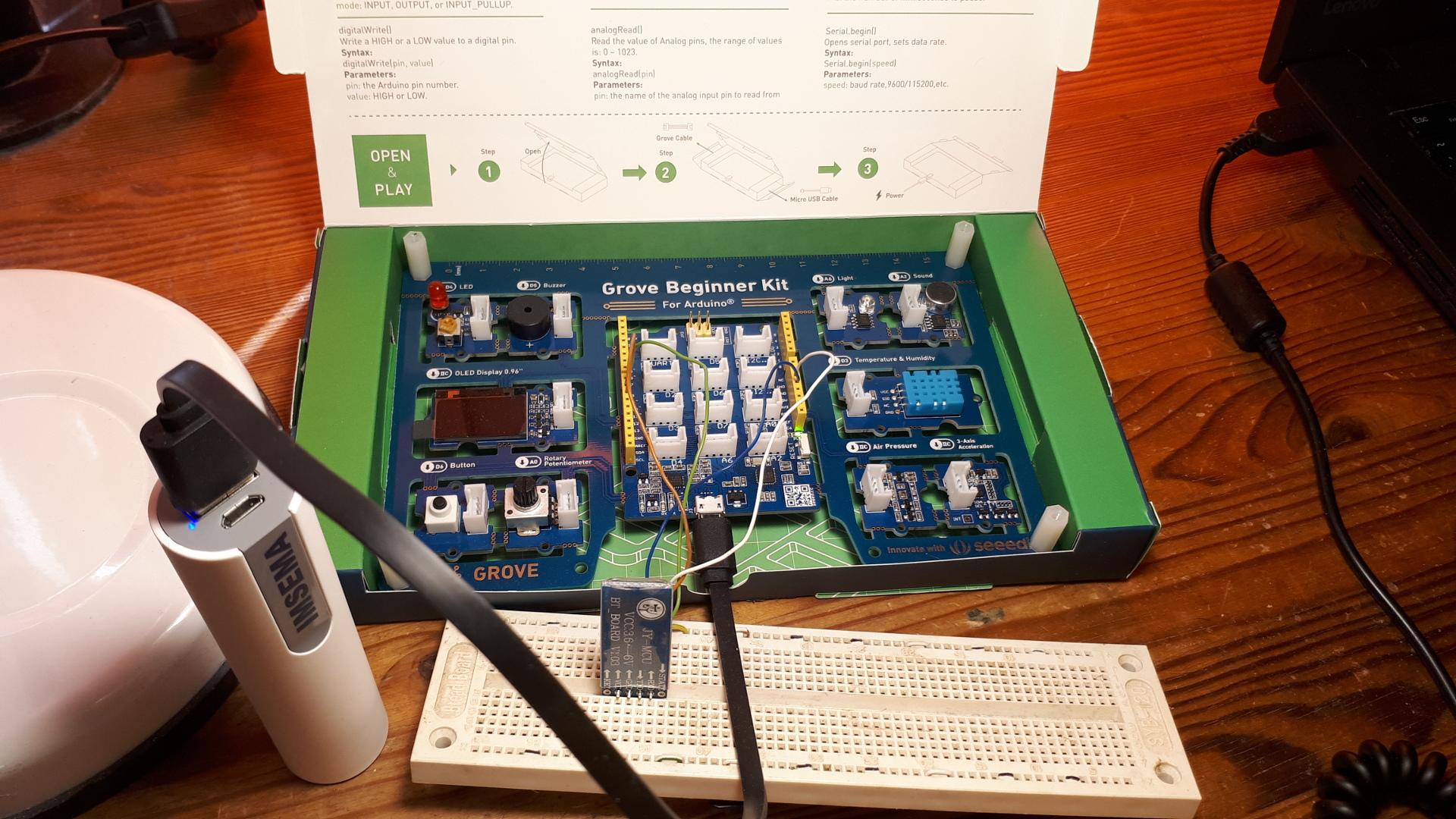 Arduino Hardware configuration