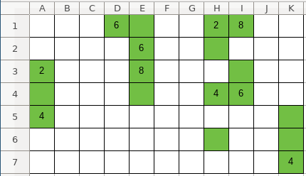 Puzlogic level 4 grid