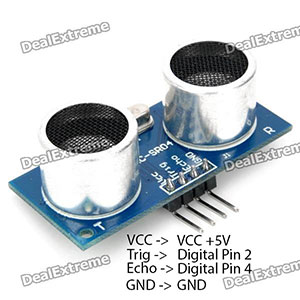 Connecting HC-SR04 sensor